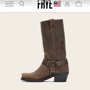 Frye 12R Harness Boot 8.5